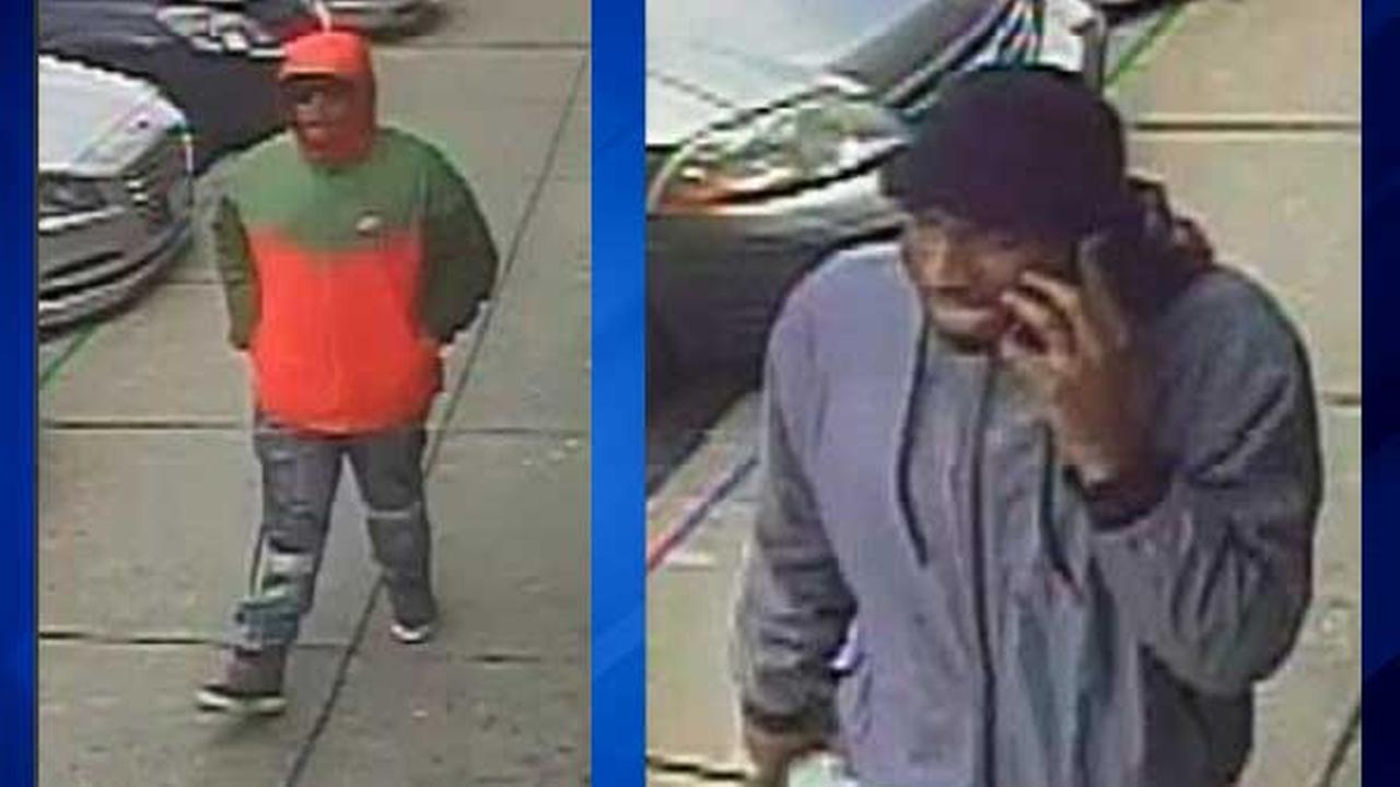 Police are searching for two men involved in the armed robbery of a MertroPCS store in northwest suburban Mount Prospect.