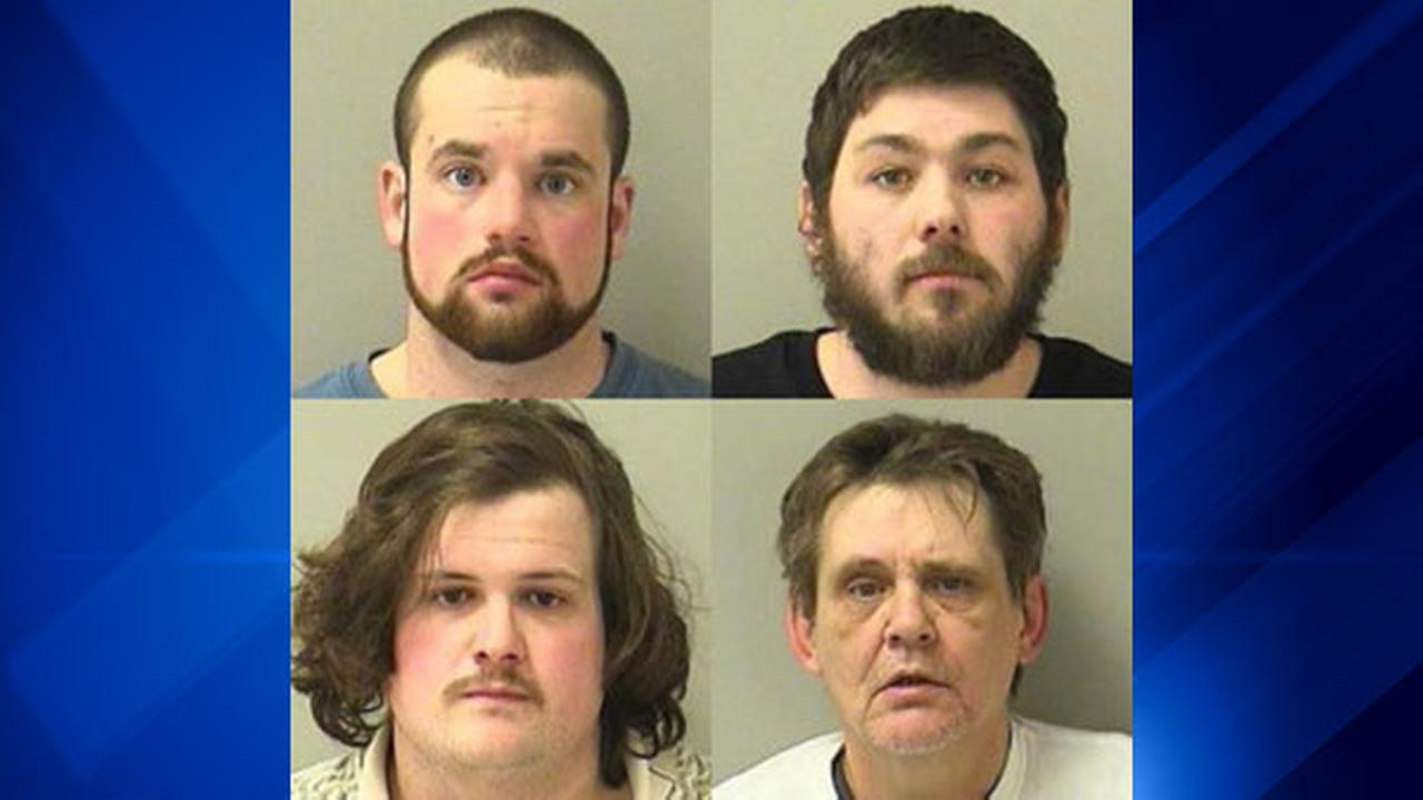 Clockwise, from top left: Eric Anthony, Neal Crowder, Joseph Tortorella and Johnny Williams