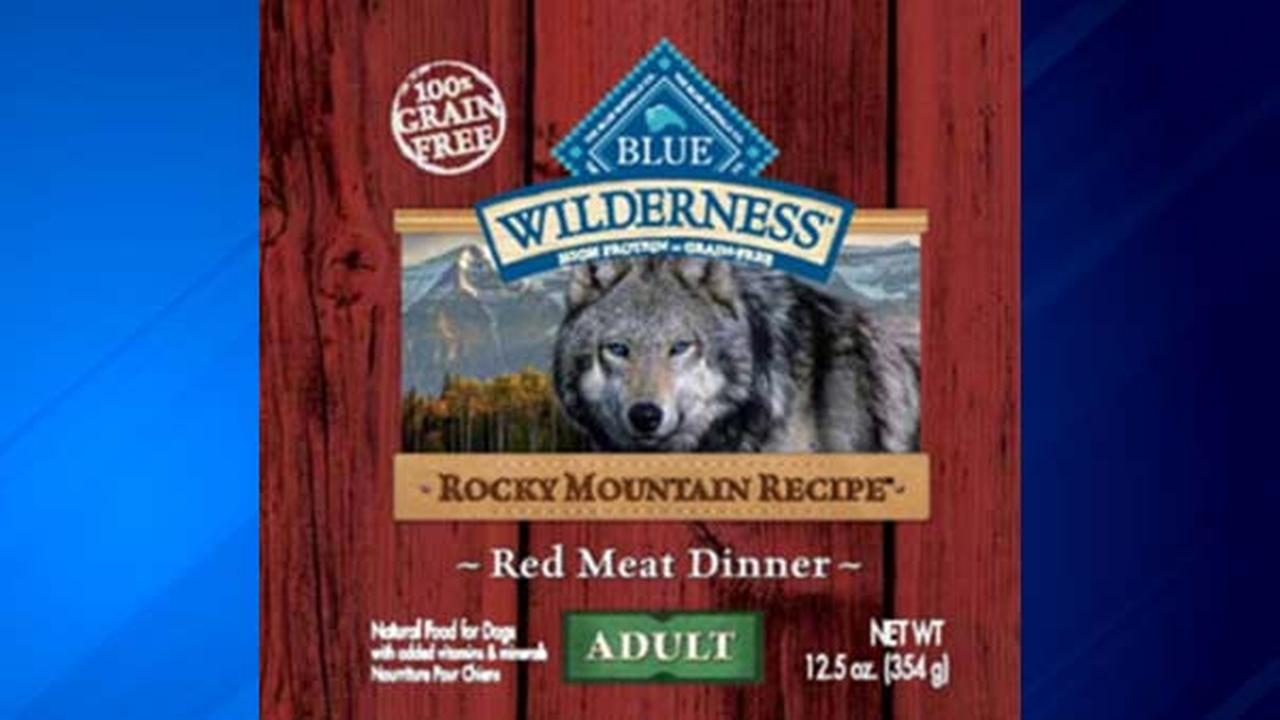 Blue Buffalo issued a voluntary recall for one production lot of Blue Wilderness Rocky Mountan Recipe Red Meat Wet Food for Adult Dogs.