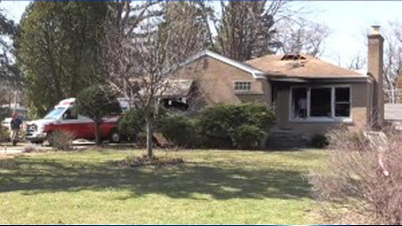 A person was killed in a house fire Friday morning in Bensenville.