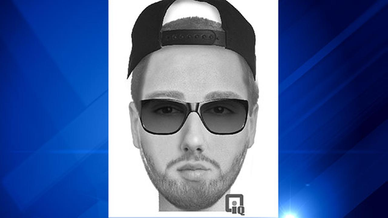 Composite image of the man who police say attacked a woman walking on Illinois Prairie Path.
