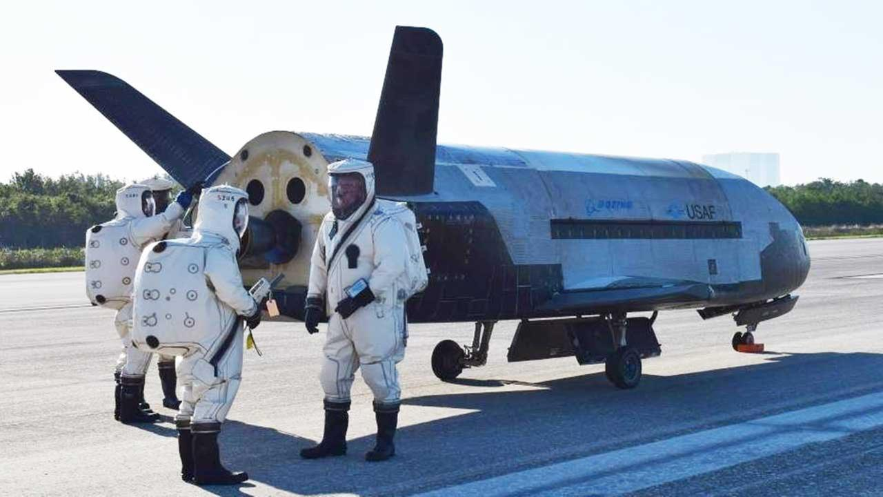 Air Forces unmanned aircraft, X-37B