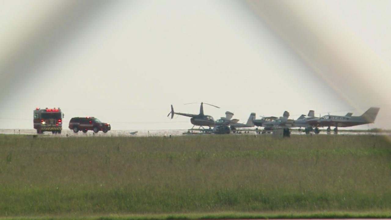 Helicopter crashes at Kenosha Regional Airport in Wisconsin