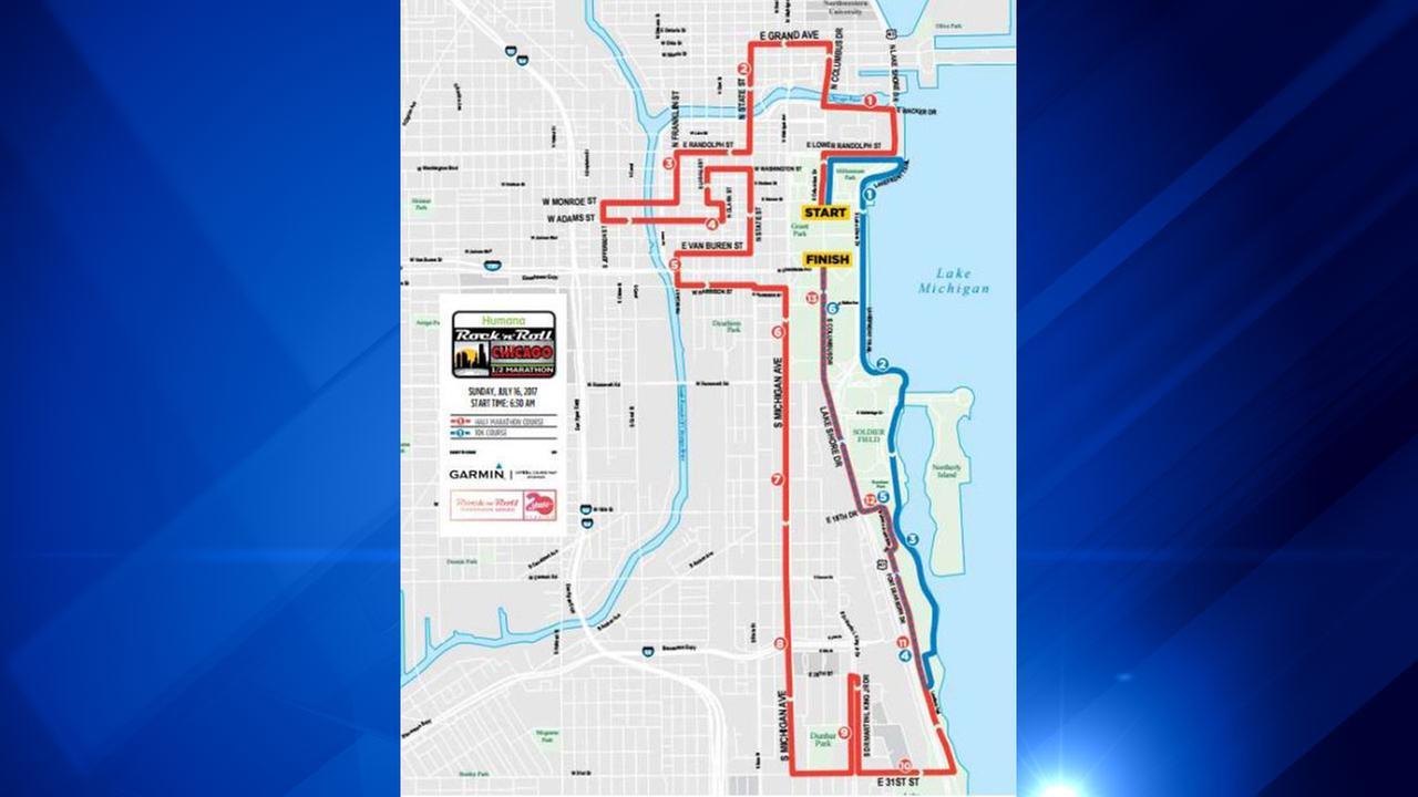 Humana Rock n Roll Chicago Half Marathon and 10K