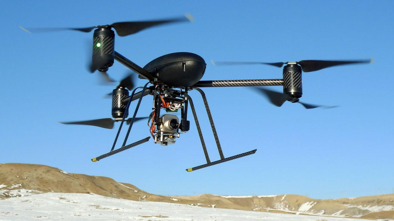 (FILE) A drone is shown in this 2009 photo.