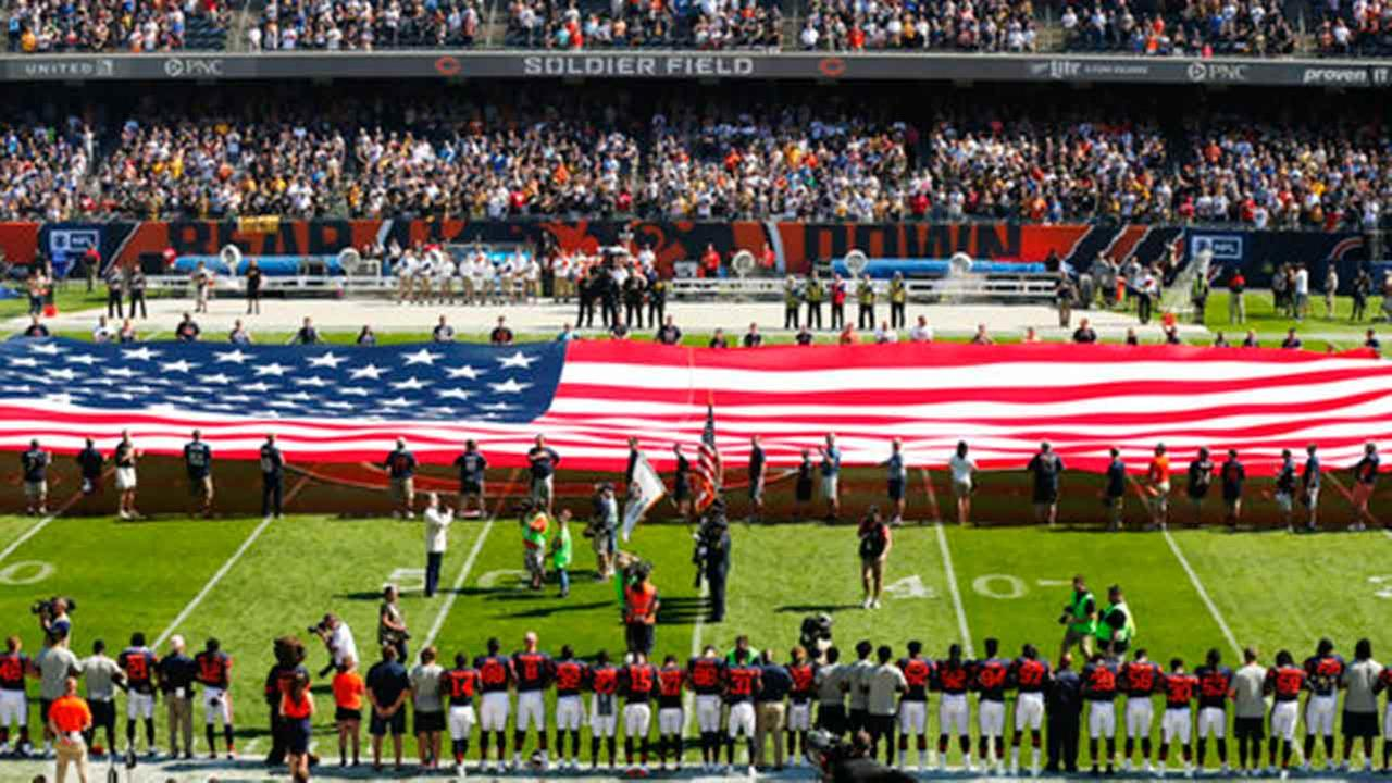 Chicago Bears national anthem