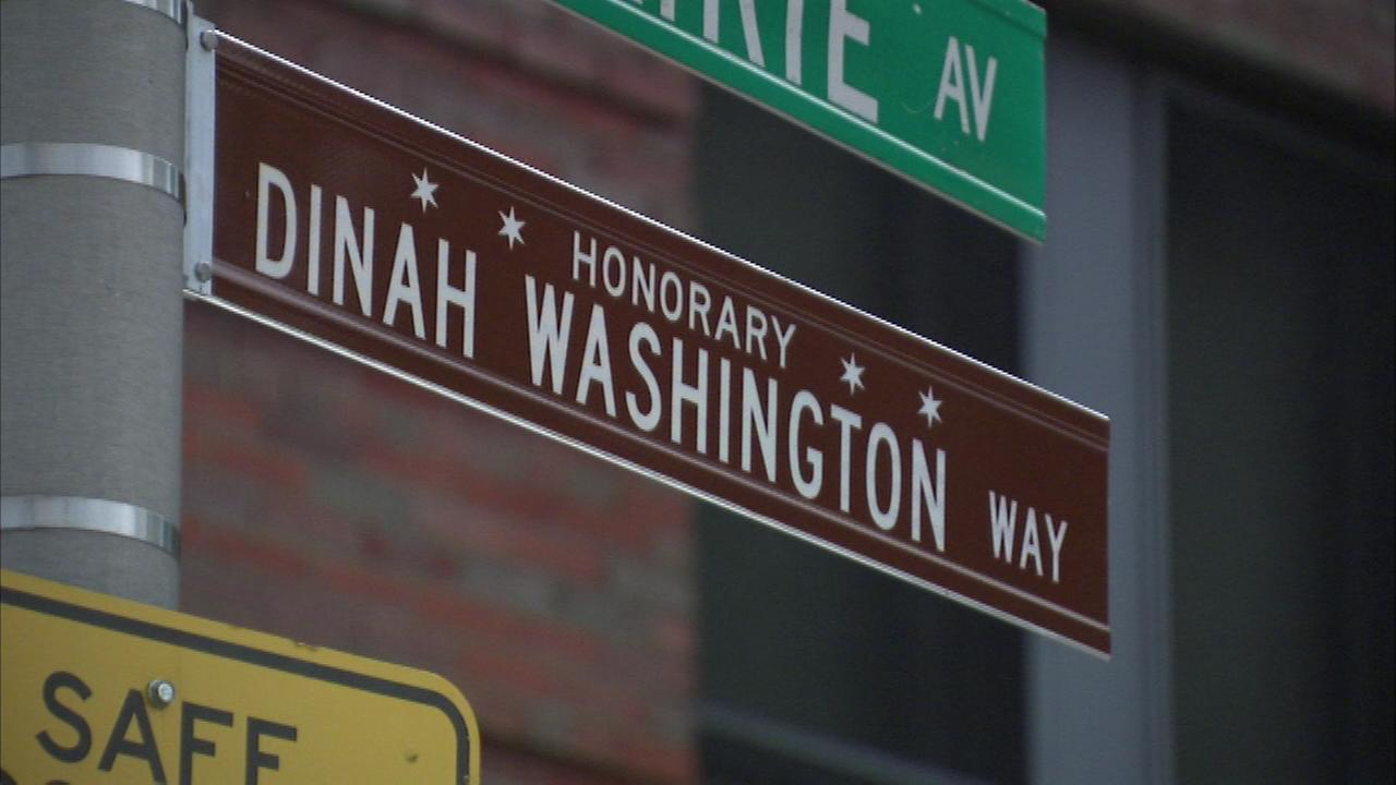 A stretch of Prairie Avenue in Bronzeville is now named for jazz singer Dinah Washington.