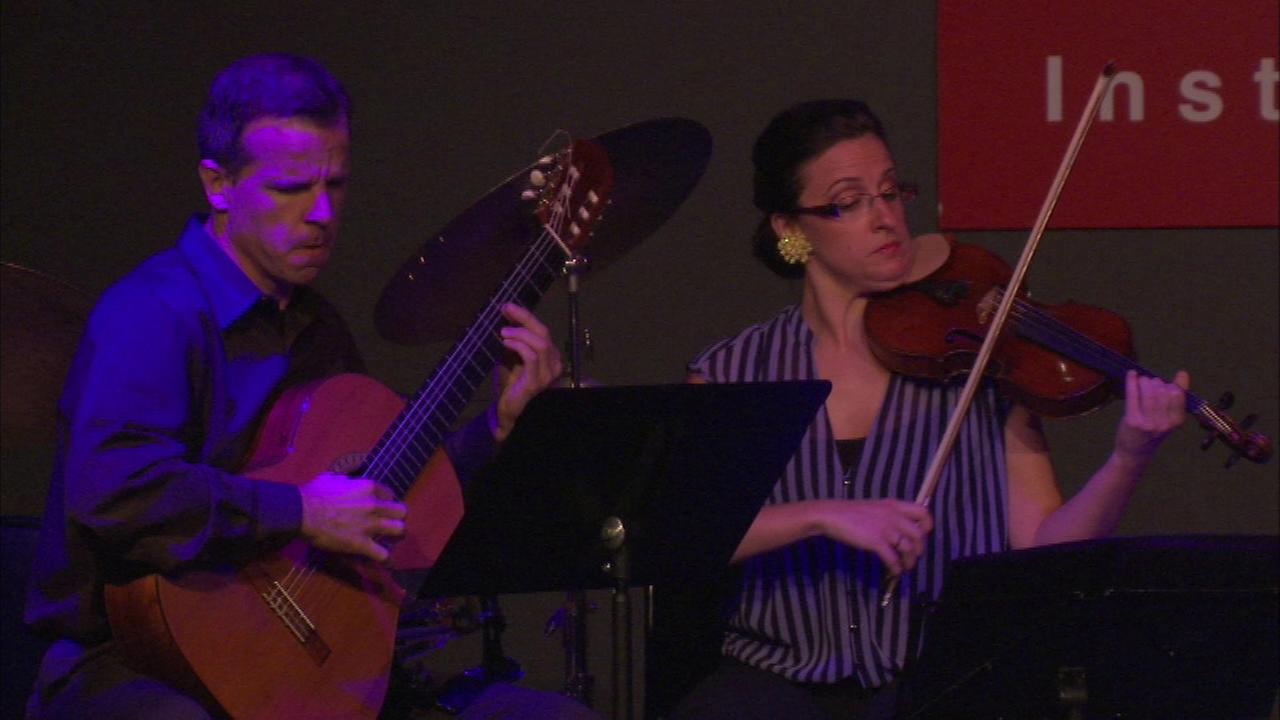 Chicagos only festival dedicated to Latino instrumental and classical music kicked off Wednesday night.