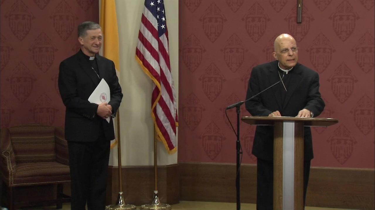 Francis Cardinal George introduces Archbishop-Designate Blase Cupich.