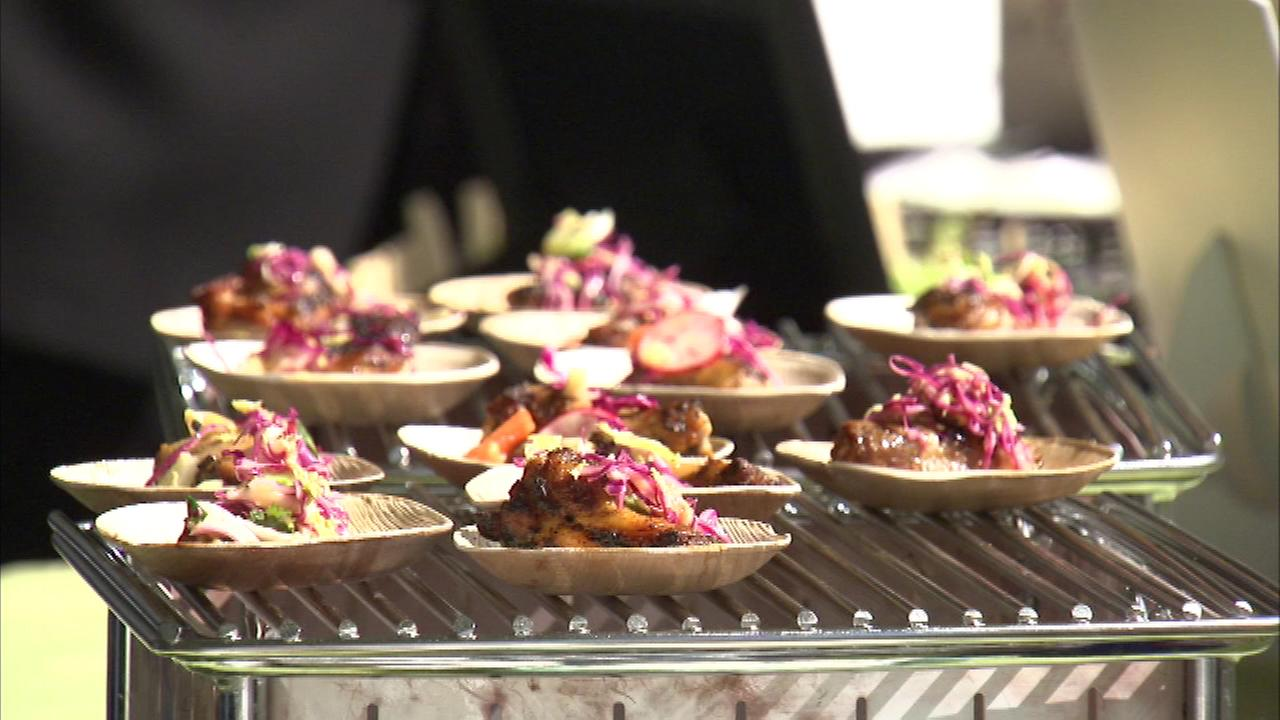 More than 150 of the citys top restaurants and chefs are taking part in Chicago Gourmet at Millennium Park.