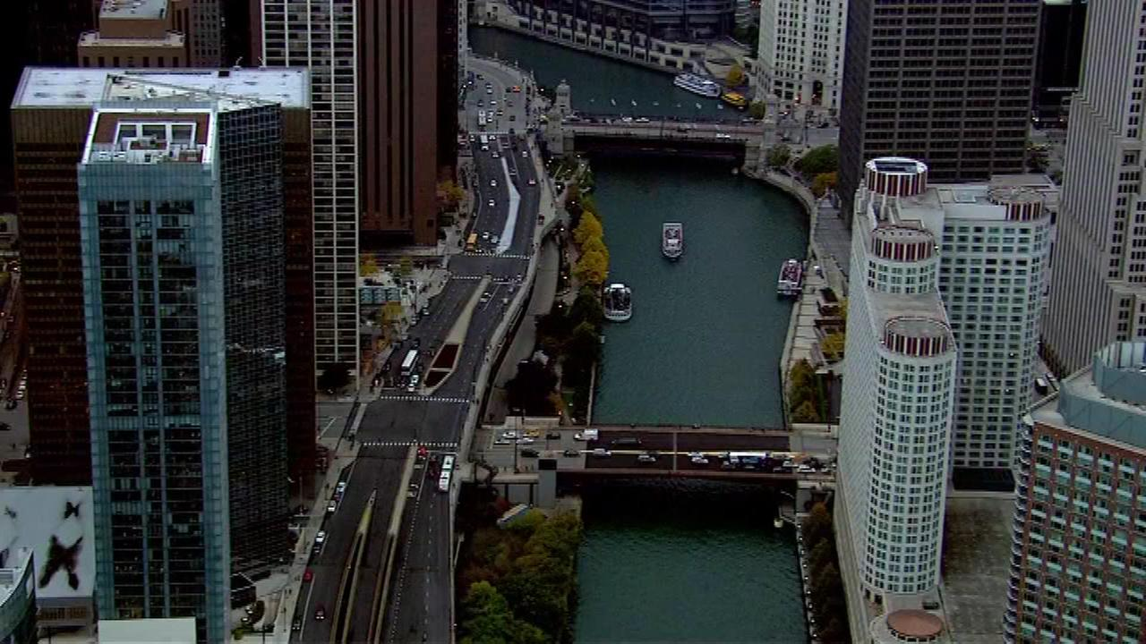 Filming this weekend will make getting around the Loop challenging at times.