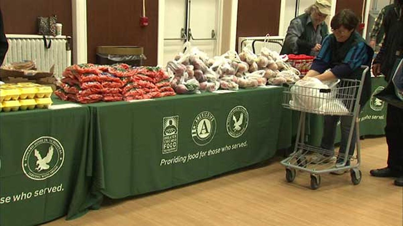 Food pantry opens at Hines VA Hospital