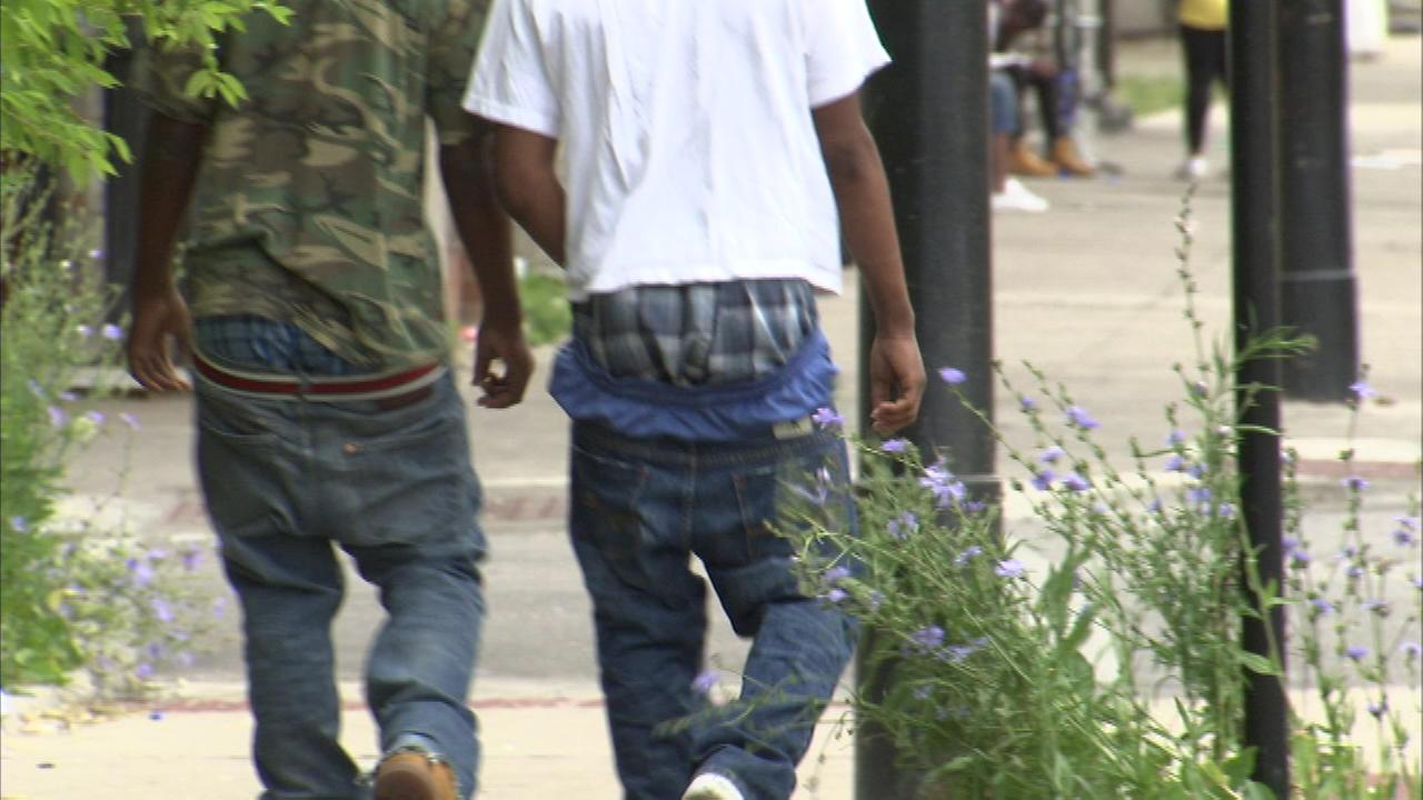 The Forest Park village council is considering a vote to make sagging slacks a violation of a local ordinance.