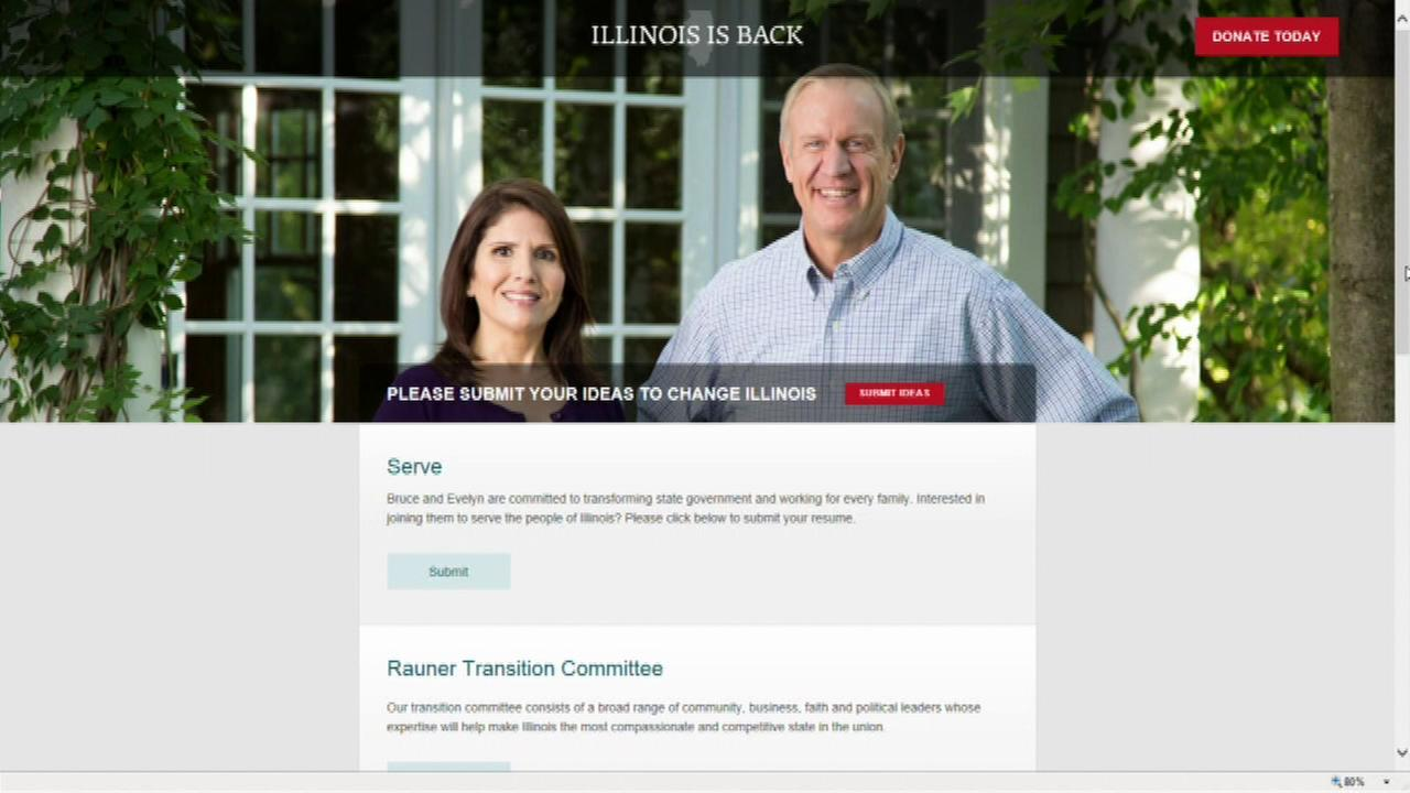 Illinois Governor-Elect Bruce Rauner launched a website that will allow people to apply for jobs in his administration.