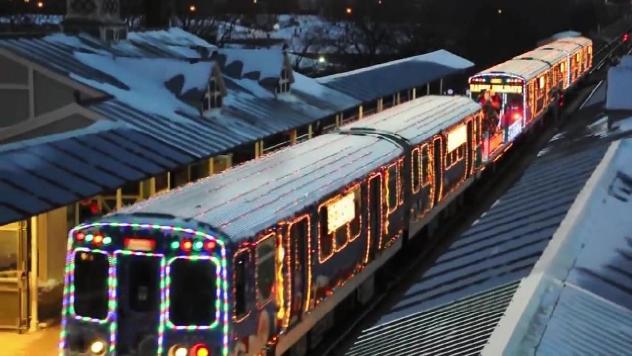 cta holiday train to start spreading cheer friday - Cta Christmas Train 2014