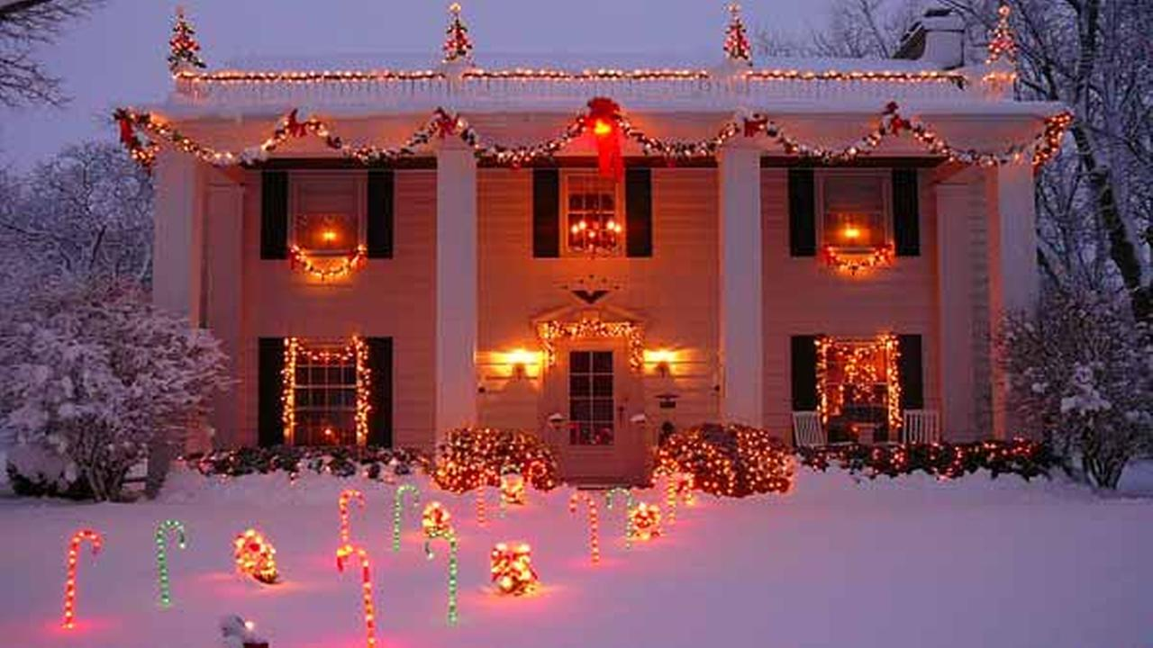 holiday lights misch family in portage abc7chicagocom