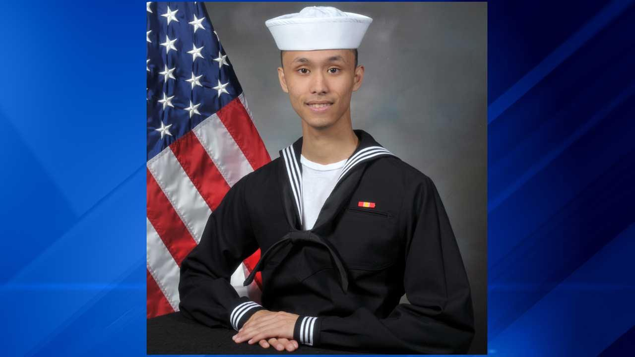 Naval recruit Andrew Adams died just four days before he was to graduate from  Recruit Training Command in Great Lakes, Ill.