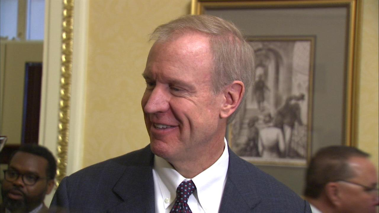 Illinois Governor-elect Bruce Rauner met with President Obama and some top members of his administration at the White House.