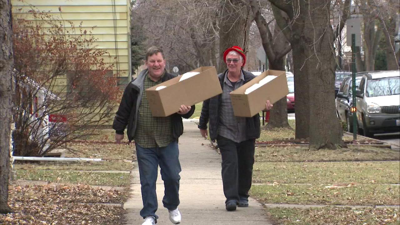 Volunteers for the Christmas Cheer Foundation were up early Thursday morning delivering meals to families who could use some cheer this holiday season.