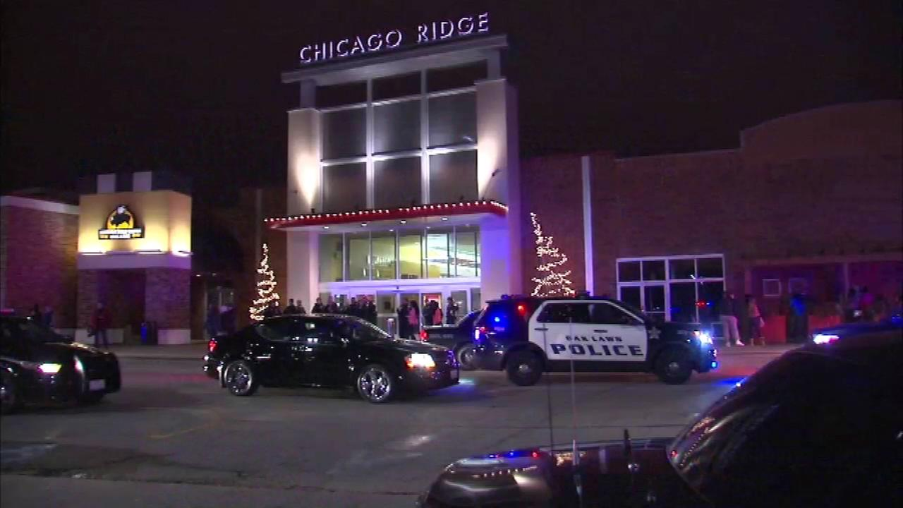 A southwest suburban mall was forced to evacuate and close after a large fight broke out Saturday evening.