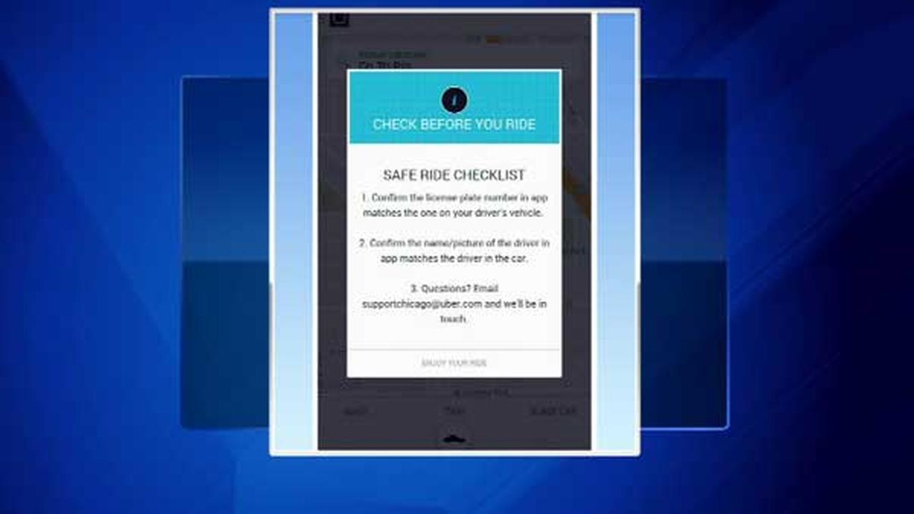 Uber adds safety checklist after drivers charged with rape