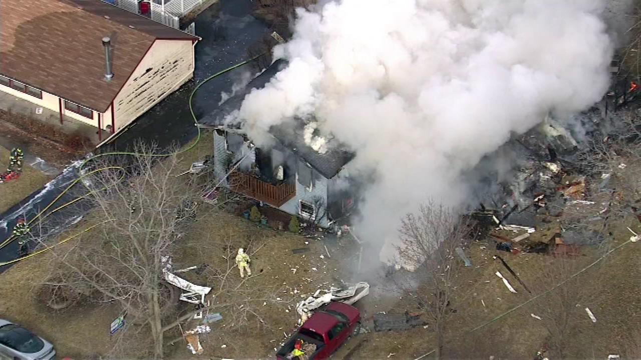 Police: Mundelein house explosion not caused by gas leak