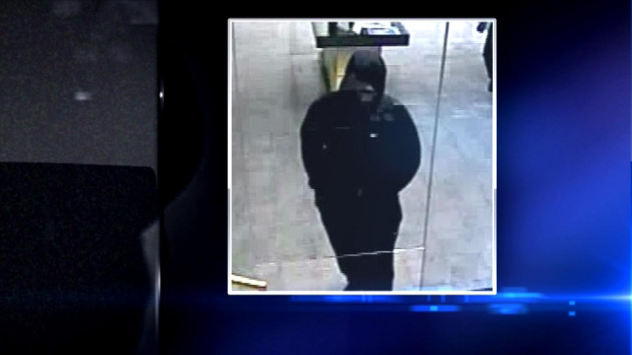 FBI releases surveillance photo of bank robbery suspect
