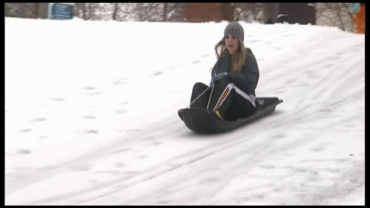 Dubuque, Iowa, bans sledding in most city parks