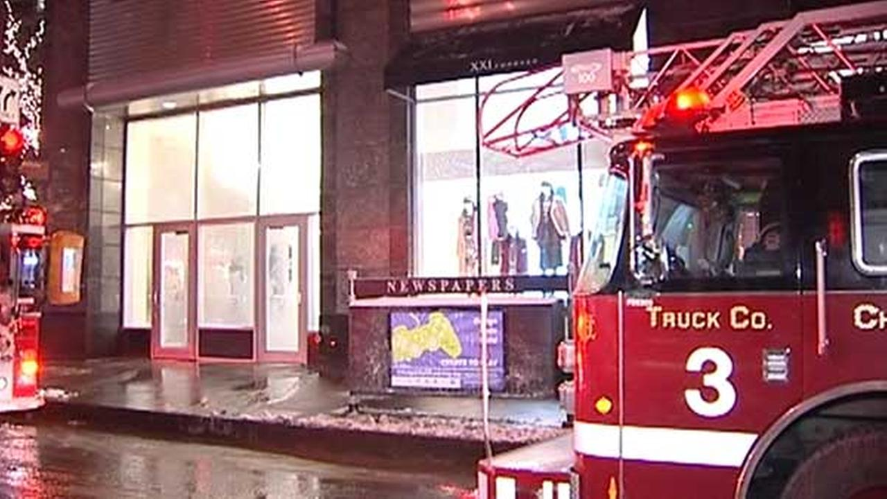 Cold temperatures cause pipe burst at Forever 21 in Mag Mile