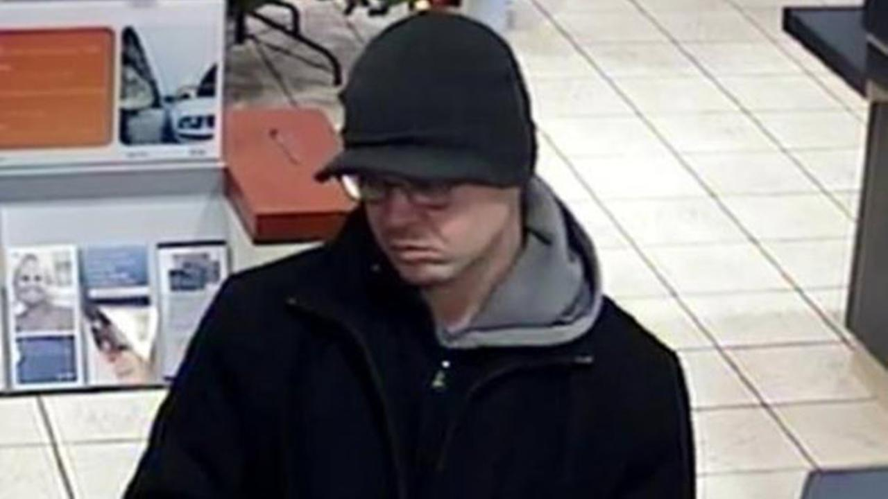 Man wanted in third suspected bank robbery since December, FBI says