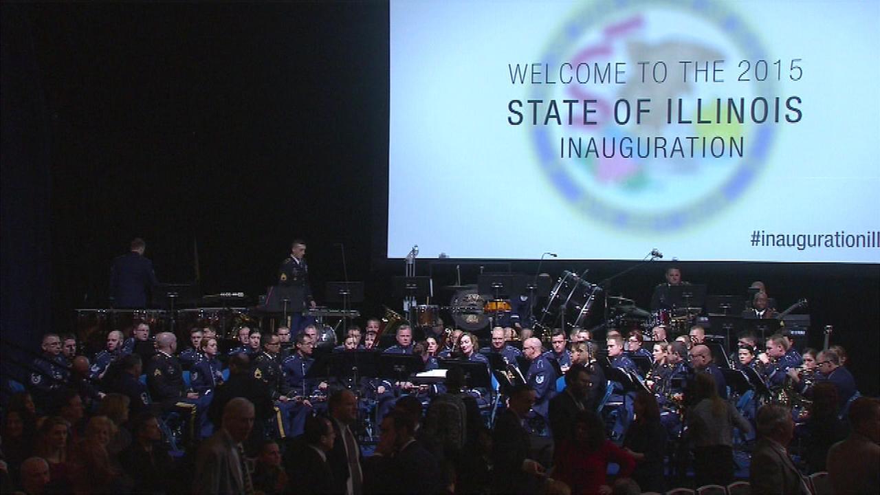 Rauner inauguration program