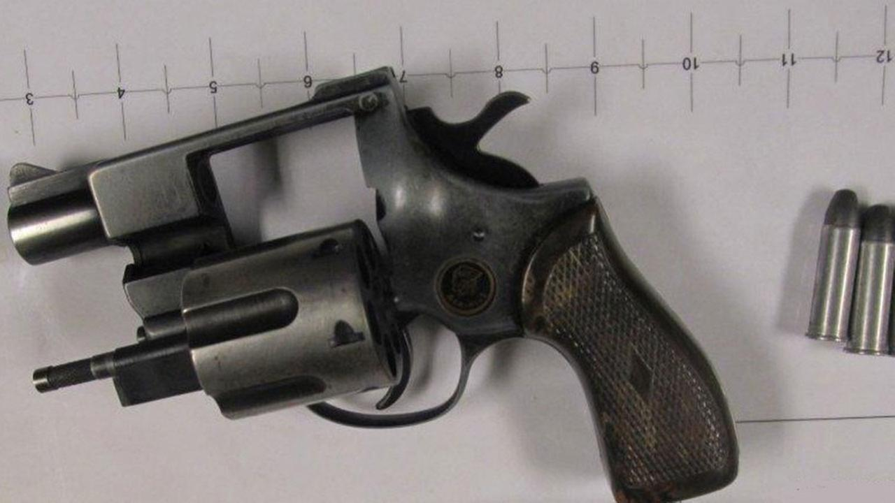 A .38 caliber Taurus Titan was found by TSA agents at Midway International Airport on January 13, 2015.