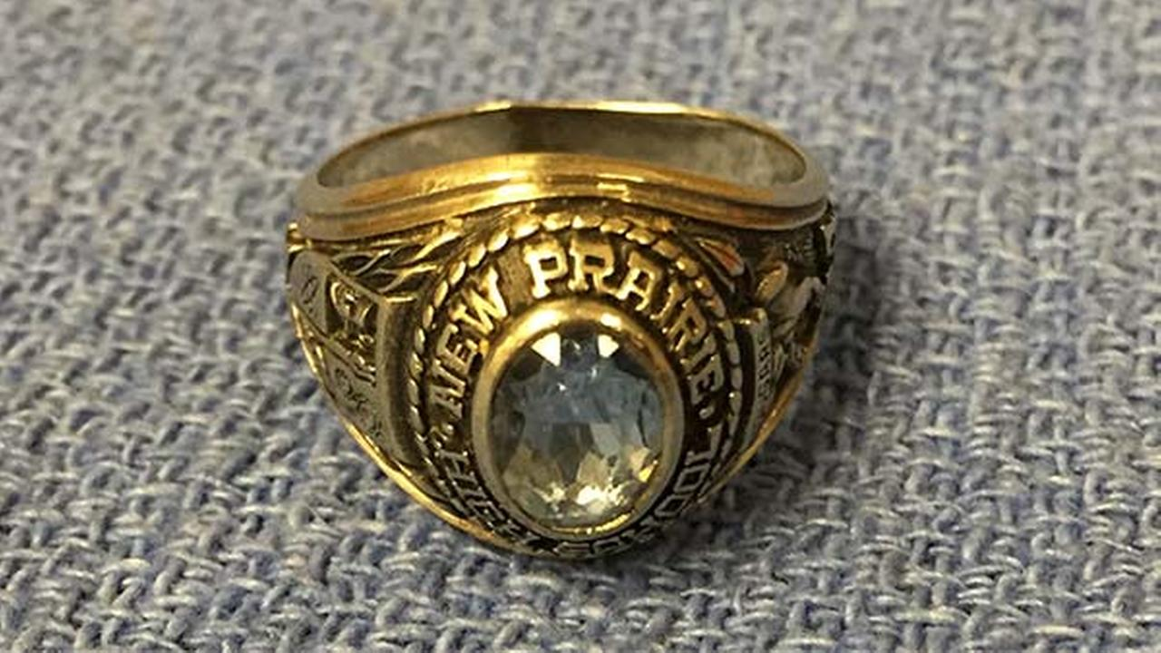 Stolen class ring to be returned to owner after more than a decade