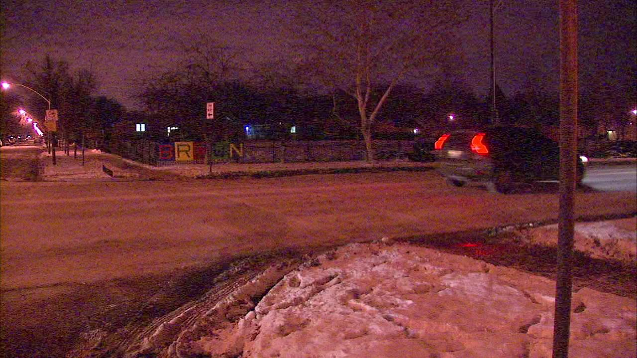 Police are searching for a driver in a hit-and-run crash that left a crossing guard seriously injured Monday afternoon near 127th and Union.