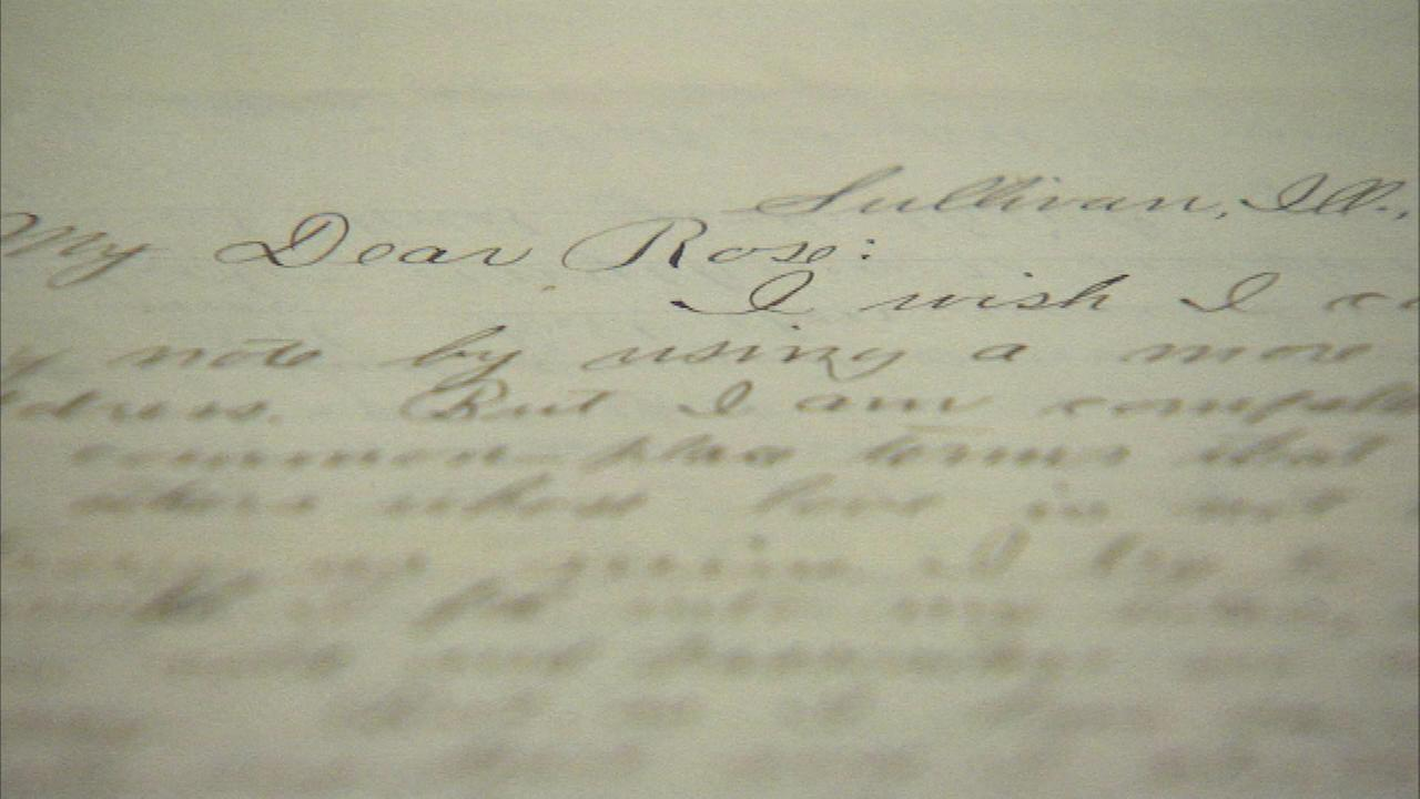 The Newberry Library is showing off a collection of love letters and documents in a free exhibit.