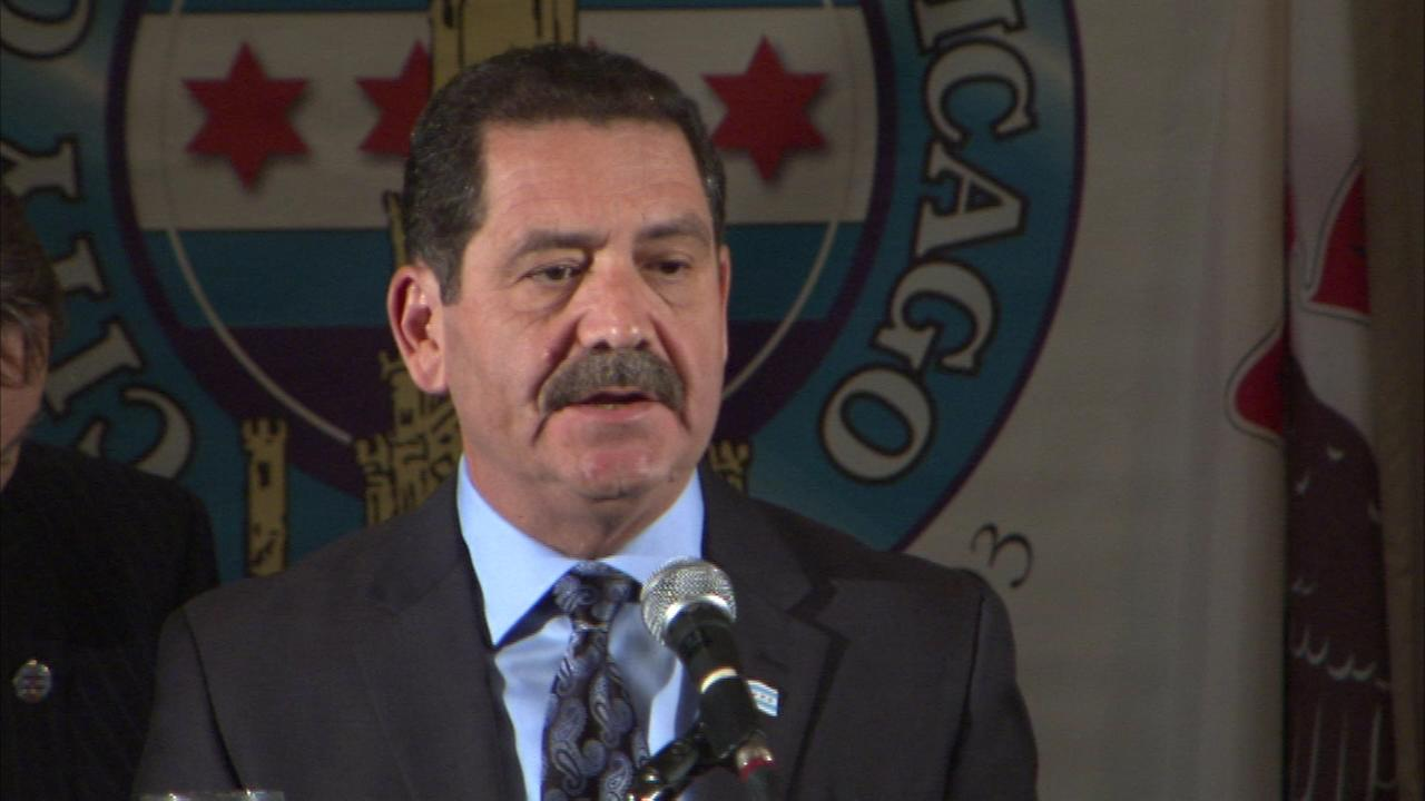 Mayor candidate Jesus Chuy Garcia spoke at the City Club of Chicago on Tuesday.