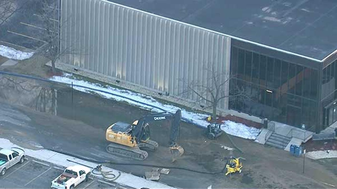 Water main break closes Lake County court in Hammond, Ind.