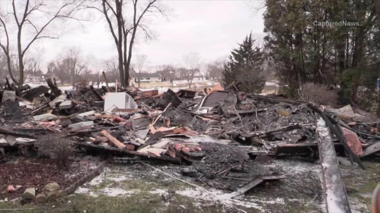 Officials are investigating the cause of a Barrington house fire that killed one person, police said.