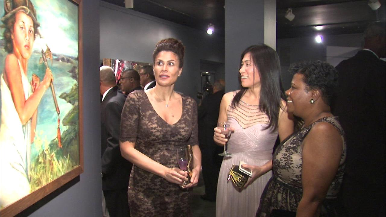 Hundreds attended a gala celebrating black creativity Saturday night at the Museum of Science and Industry.