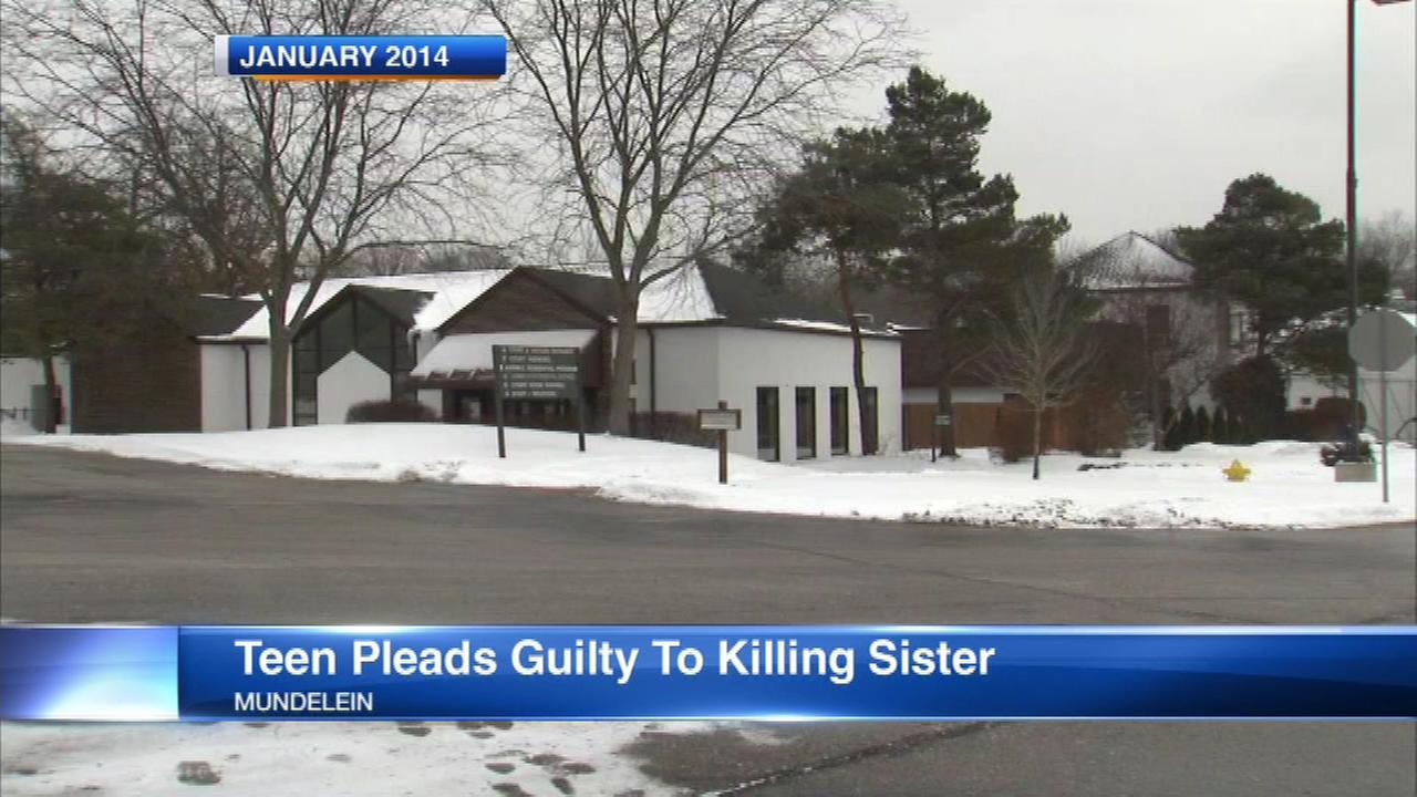Girl, 15, pleads guilty to sister's murder