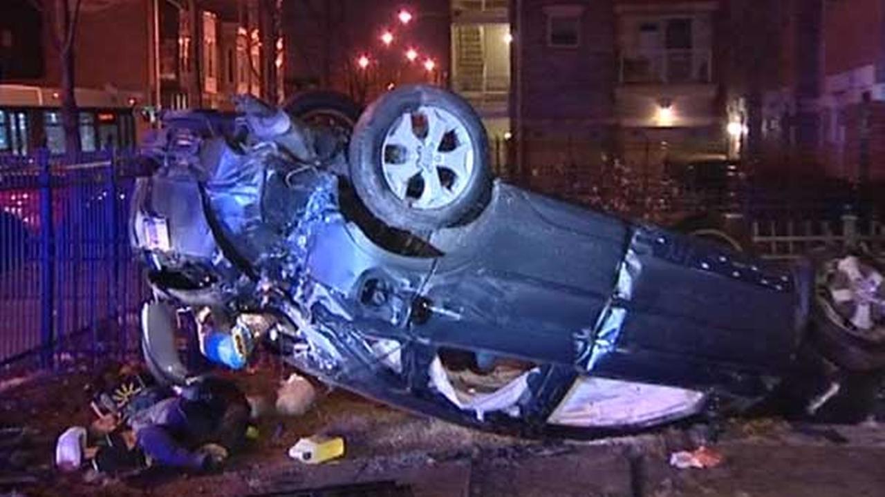 Driver crashes stolen car into home