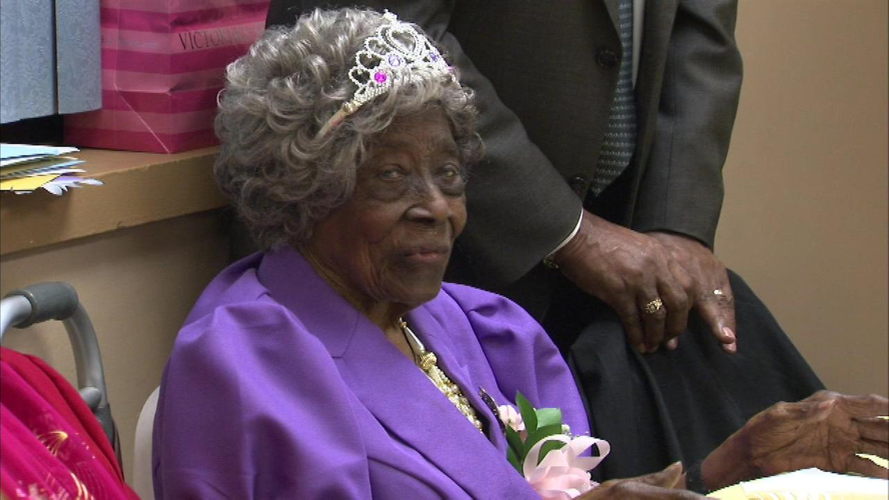 A long-time Evanston resident is celebrating a big birthday, as Daisy Harris turned 104 years old on Wednesday.