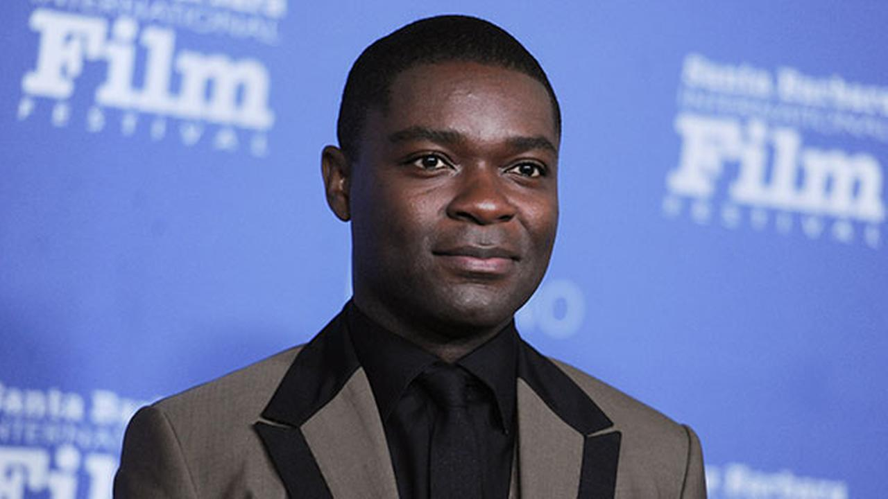 David Oyelowo arrives at the 30th Santa Barbara International Film Festival Virtuosos Award ceremony on Sunday, Feb. 1, 2015, in Santa Barbara, Calif.