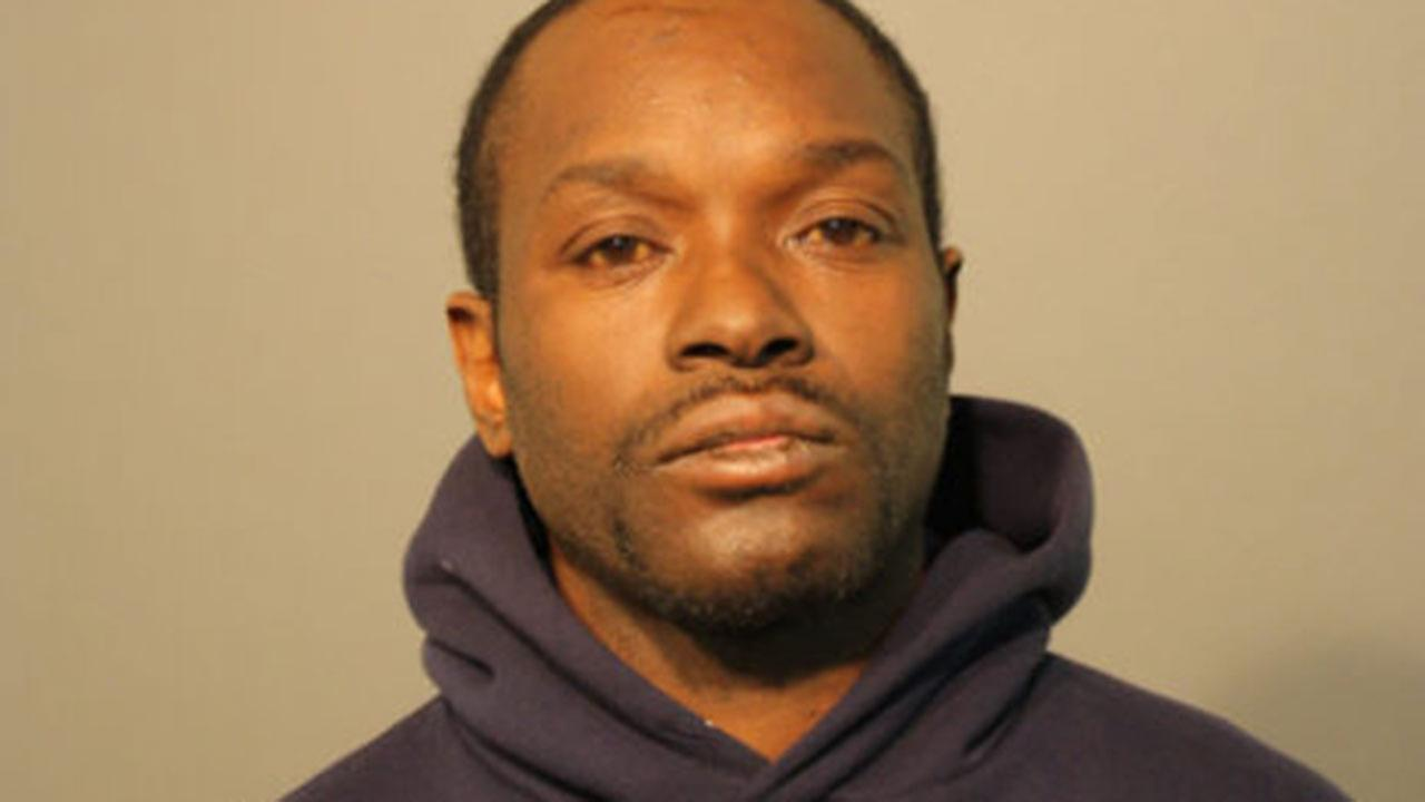 Warren Dedrick, 44, is charged with felony theft for allegedly taking UPS packages off porches in Logan Square.