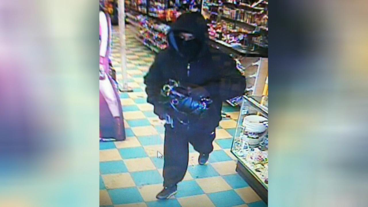 Gages Lake police released a surveillance image of an armed robbery suspect.