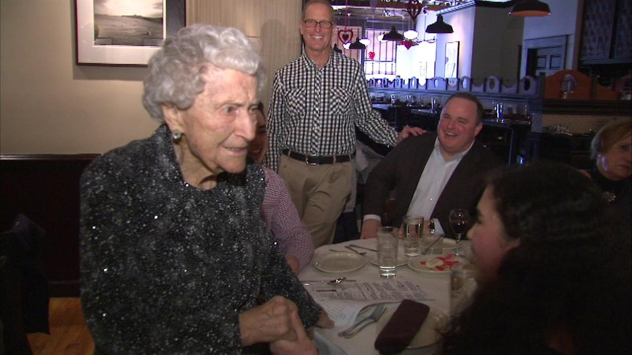 LaGranges Angela Divenere celebrated her 105th birthday.