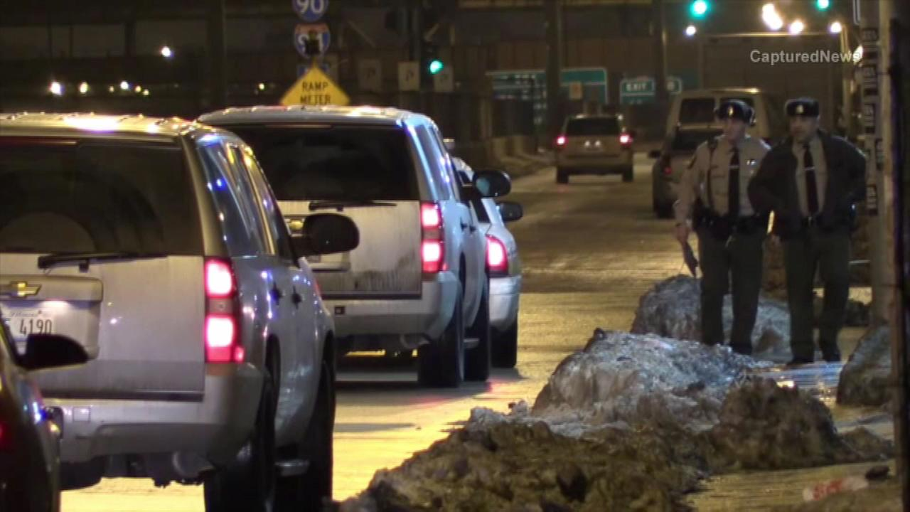 No one was injured when Illinois State Police opened fire during a traffic stop on Chicagos south side Saturday night.