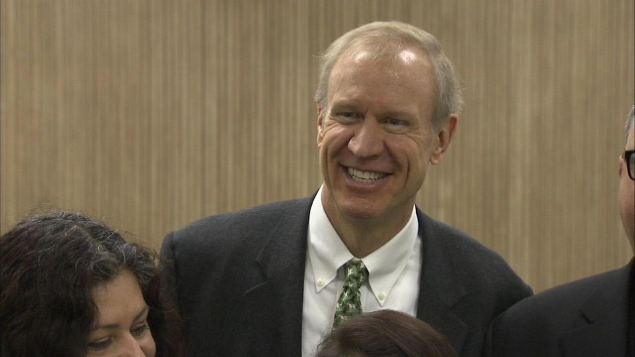 Illinois Governor Bruce Rauner