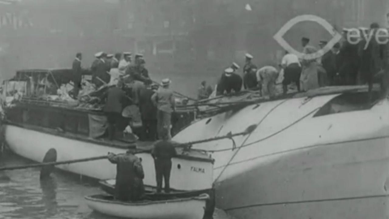 A graduate student at the University of Illinois at Chicago came across the first-known film footage of the Eastland disaster while doing online research.