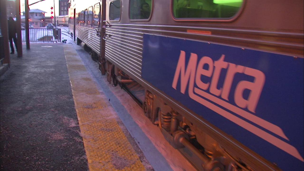 More people are jumping on board Metra trains.